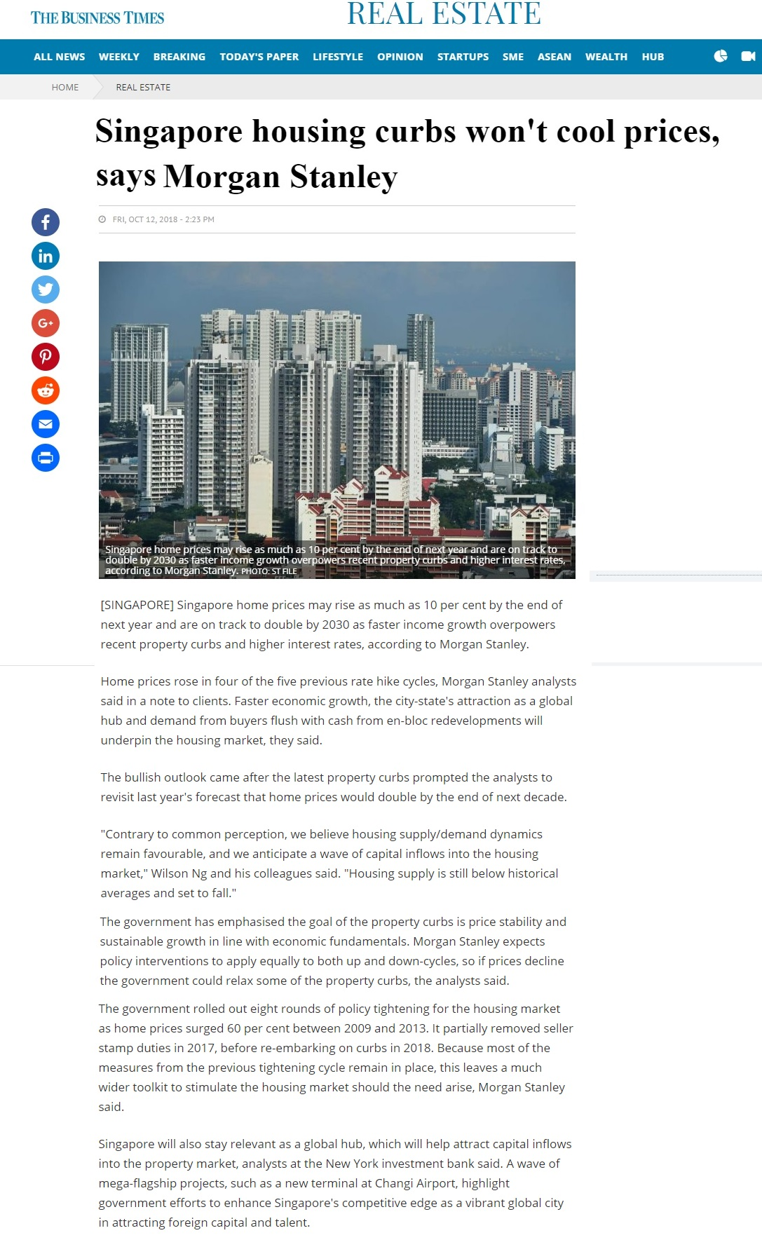 park-colonial-singapore-housing-curbs-wont-cool-prices-says-morgan-stanley-business-time
